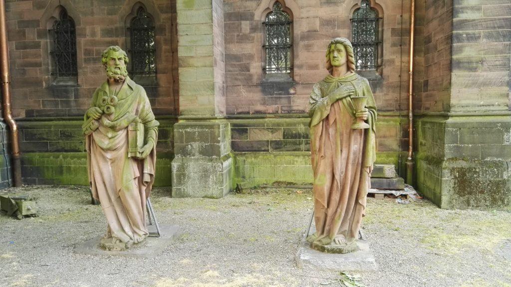 Kirchgarten Sankt Johann Saarbrücken