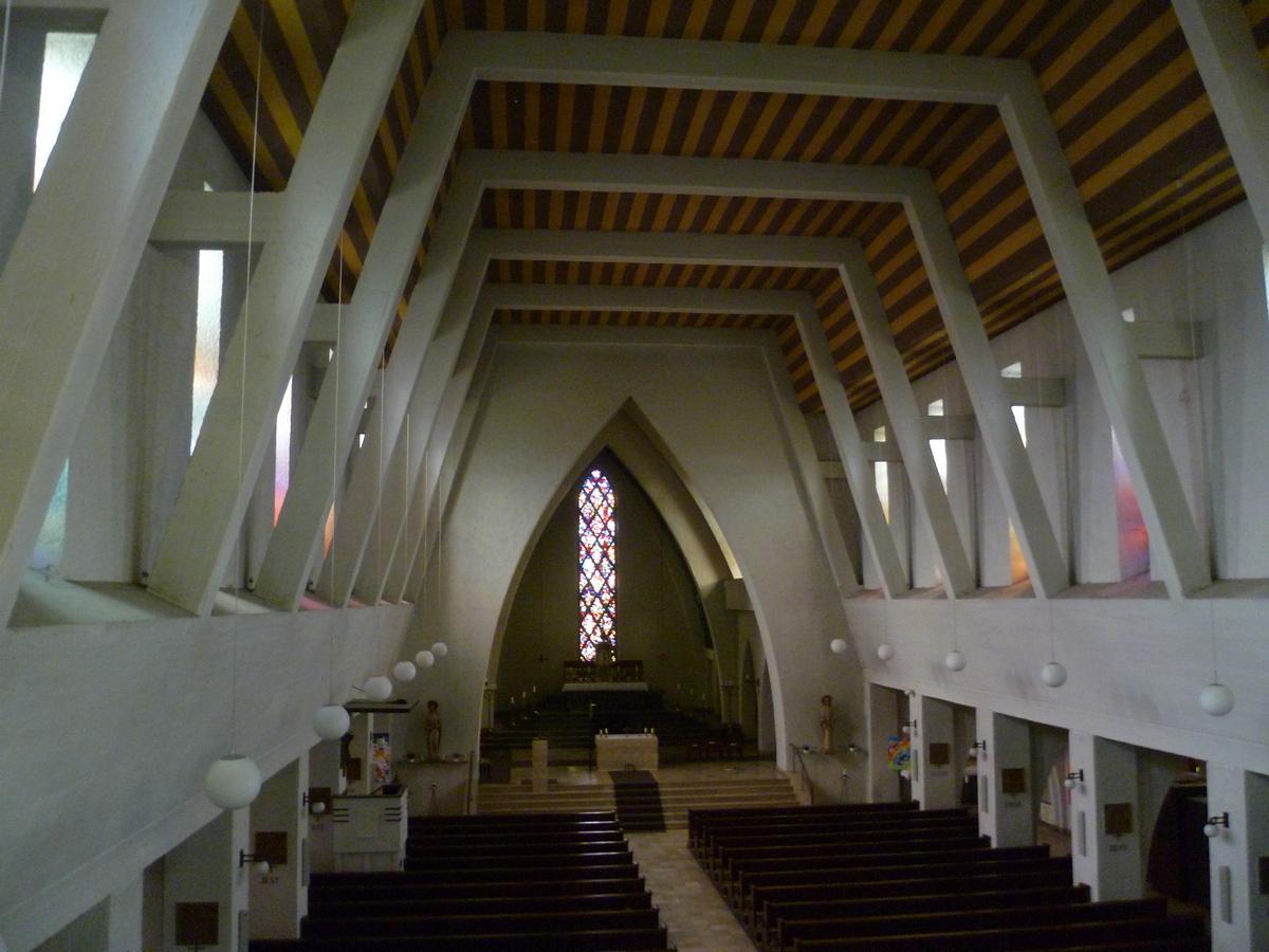 St. Ingbert, Kath. Kirche St. Hildegard, innen